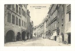 Cp, 39, Lons-le-Saunier-les-Bains , Les Arcades - Lons Le Saunier