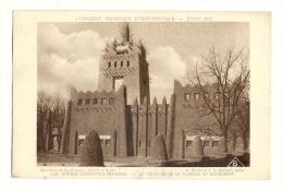 Cp, 75, Paris, Exposition Coloniale Internationale - 1931 -  Afrique Occidentale Française, Le Palais, Voyagée 1931 - Exhibitions