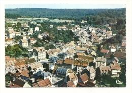 Cp, 90, Beaucourt, Vue Aérienne, Le Centre - Beaucourt