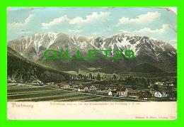PUCHBERG, AUSTRIA - SCHNEEBERG, 2075 M, VON DER FRIEDRICHSHOHE BEI PUCHBERG A. S. Aus - MEHNER & MAAS - TRAVEL IN 1911 - - Neunkirchen