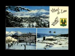 38 - VILLARD-DE-LANS - Vue Générale - La Patinoire - Multi Vues - Luge - Villard-de-Lans