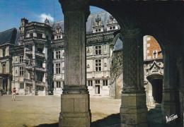 France Blois Cour D'honneur Du Chateau L'aile - Blois