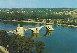 France Avignon Le Pont Saint Benezet et le Rhone