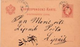 00768 Enteropostal Chopin A Lipnik 1828 - Postwaardestukken