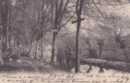 Ag - Cpa PONT AVEN - L'Entrée Du Bois D'Amour (précurseur) - Pont Aven