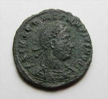 A ROMAN BRONZE COIN OF CONSTANS AS CAESAR ...AE3..GENUINE .....JUN2 - 7. El Impero Christiano (307 / 363)