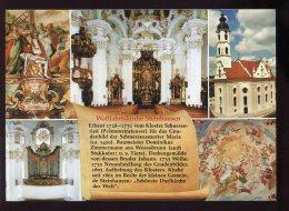 CPM Neuve Allemagne BAD SCHUSSENRIED Wallfahrtskirche Steinhausen Multi Vues - Bad Schussenried
