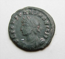 A ROMAN BRONZE COIN OF CONSTANS AS CAESAR ...AE3..GENUINE .....JUN7 - 7. El Impero Christiano (307 / 363)