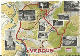 Meuse :  VERDUN :   Circuit  Des  Forts - Verdun