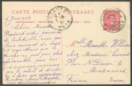 E.P. Paquebot N°15 Obl. Sc TONGRES Du 5 Juin 1923 Vers Mazamet (FR).  TB  - 9145 - Stamped Stationery