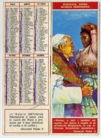 Calendarietto - Giornata Mondiale Dell'infanzia Missionaria - Papa Paolo Giovanni II - 1980 - Calendari