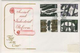 GB 1976 SOCIAL REFORM FDC - 1971-1980 Decimal Issues