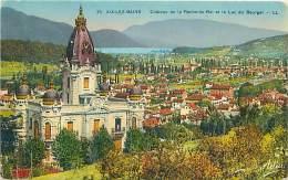 73 - AIX-LES-BAINS - Château De La Roche-du-Roi Et Le Lac De Bourges (LL. 35) - Aix Les Bains