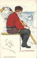 CPA PAYS BAS DOS SIMPLE DE 1902 - AAN DE NOOTDZEE  - 010813 - Pays-Bas