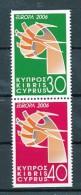 "ZYPERNMi.Nr. 1074-1075 C  EUROPA CEPT  ""Integration "" 2006 - MNH - Europa-CEPT"