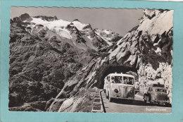 SUSTENSTRASSE  - ( Autocar)  -  BELLE  CARTE  PHOTO - - BE Bern