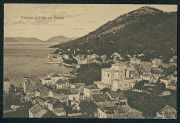 Pozdrav Iz Luke Na Sipanu (Greetings From Port On Sipan) --- Postcard Traveled - Croatie