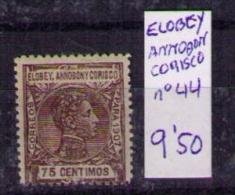 Elobey Annobon Corisco  Edifil Nº 44 - Elobey, Annobon & Corisco