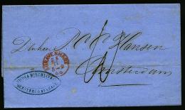 A2099) Niederlande Netherlands Brief Von S´Gravenhage 25.11.1866 Nach Amsterdam - 1852-1890 (Wilhelm III.)