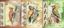 4 Sets With Header 2013 Woodpecker Bird Ant Insect Stamp Malaysia MNH - Maleisië (1964-...)