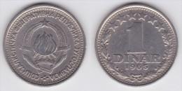 Yugoslavia - 1 Dinar - 1965 - KM 47 - VF+ - Jugoslawien