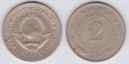 Yugoslavia - 2 Dinara - 1980 - KM 57 - XF+ - Jugoslawien
