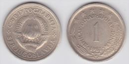 Yugoslavia -1 Dinar- 1978 - KM 59 - Unc - Jugoslawien