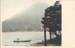 7832 - Mountain Of Nantai And Chuzenji Lake Nikko - Japon