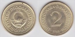 Yugoslavia -2 Dinara- 1982 - KM 87 - XF+ - Jugoslawien