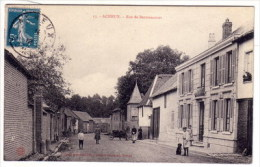 80 _  ACHEUX En AMIENOIS  _  Rue  De  Bertrancourt  _ - Acheux En Amienois