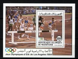 Rep. Islamique De Mauritanie 1984, Sport - Olympic Games - Los Angeles **, MNH - Zomer 1984: Los Angeles