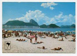 BRAZIL - AK 163932 Rio De Janeiro - Copacabana's Beach - Copacabana