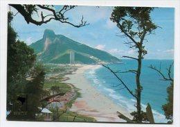 BRAZIL - AK 163961 Rio De Janeiro - Sao Conrado Beach - National Hotel At The Background - Rio De Janeiro