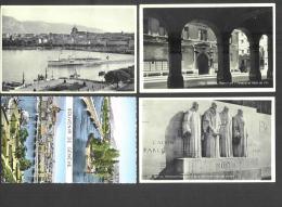 Suisse - 4 CPA - Genève - Lac Leman - Bateau - Réformation - Calvin - Farel - Beze - Knox - Arsenal - GE Genève