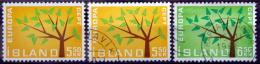 Island  1962  EUROPA  MiNr.364-65 (O) + 364 MNH (**) ( Lot L117    (O) - 1944-... Republik