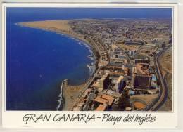 GRAN CANARIA  -  Playa Del Ingles    -   Aerea View - Gran Canaria