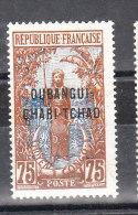 OUBANGUI-CHARI-TCHAD YT 14 Neuf