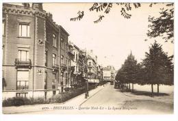 """""""Bruxelles - Quartier Nord-Est - Le Square Marguerite"""" - Places, Squares"""