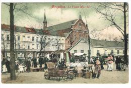 """""""Bruxelles - Le Vieux Marché"""" - Mercati"""