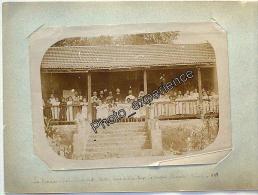Photo XIX Ecole Enfant SAINT DENIS ? 1898 île La Réunion 974 DOM France - Lieux