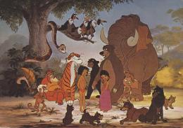 ¤¤  WALT-DISNEY  -  Le Livre De La Jungle  -  Moogli    ¤¤ - Disney
