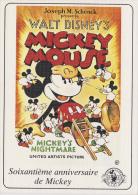 ¤¤  WALT DISNEY  Production  -   MICKEY  MOUSE - Mickey's Nightmare - 60ème Anniversaire De Mickey   &curr - Disney
