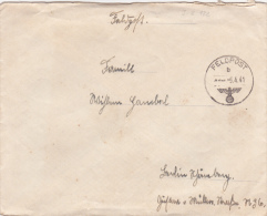 Feldpost Ww2: Infanterie-Regiment 122 (Stab II) FP 13962A Dtd 6.4.1941 - Cover Only. In Romania With 50. Infanterie Divi - Militaria