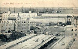 CPA Alexandrie, Vue Générale De La Douane - Alexandrie
