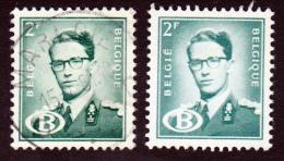 Lot De 5 Timbres Service De 1954 Roi Baudouin Cob S59 Et 59a - Officials