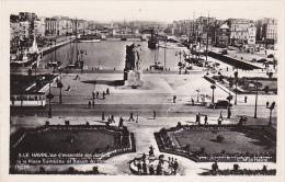 France Le Havre Vue d'ensemble des Jardins de la Place Gambette