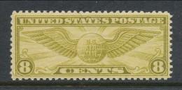 USA 1932 Air Mail Scott # C 17. Winged Globe. MH (*) - 1b. 1918-1940 Unused