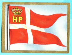 Die Welt In Bunten Flaggenbild - 1950 - Teil I - A.33 - Dänemark, Danmark, Denmark - Chromos