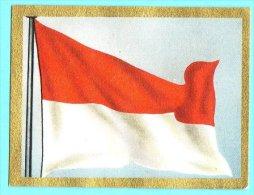 Die Welt In Bunten Flaggenbild - 1950 - Teil I - C.44 - Monako, Monaco - Chromos
