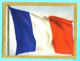 Die Welt In Bunten Flaggenbild - 1950 - Teil I - D.7 - Frankreich, France - Chromos